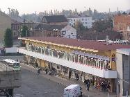 Výstavba obchodního centra Zvonařka ČSAD